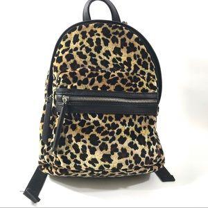 Leopard mini backpack